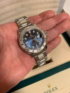ヨットマスター116622(ブルー)